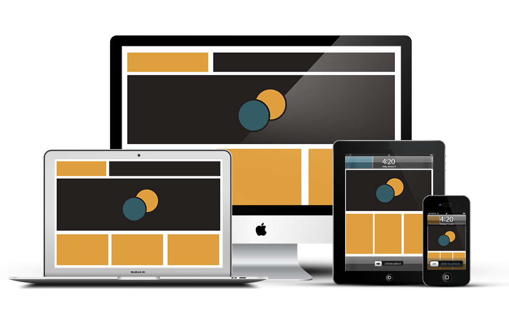 Création de sites web - Responsive Web Design